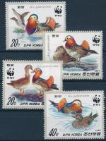 WWF: Mandarin duck set, WWF: Mandarinréce sor