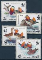 WWF Mandarin duck set, WWF: Mandarinréce sor