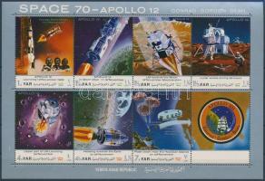 Apollo 12 (I.) mini sheet, Apollo 12 (I.) kisív