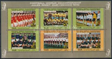 Football World Cup (IV.) minisheet, Futball világbajnokság (IV.) kisív