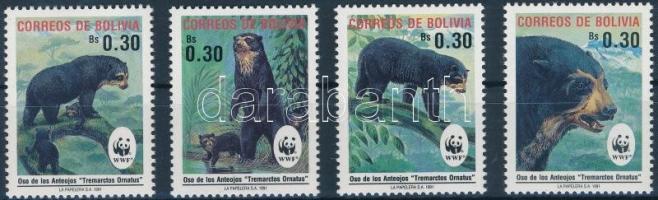 WWF Spectacled Bear set, WWF: Pápaszemes medve sor