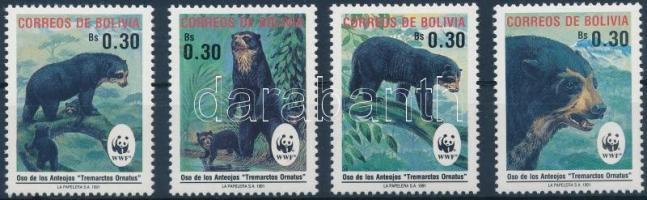 WWF: Spectacled bear set, WWF: Pápaszemes medve sor