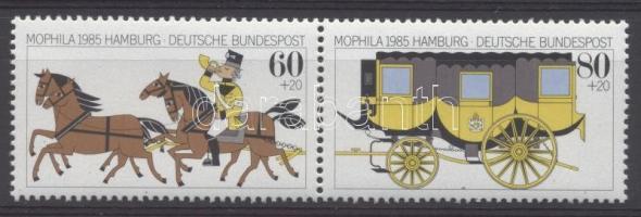 1985 Hamburgi bélyegkiállítás Mi 1255-1256
