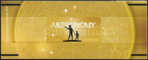 Europa CEPT Astronomy stamp-booklet Europa CEPT Csillagászat bélyegfüzet