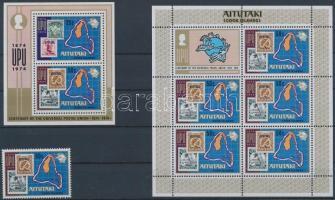 UPU stamp + minisheet + block UPU bélyeg + kisív  + blokk