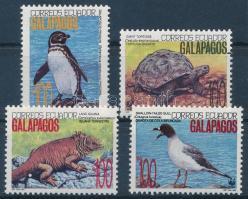 1992 WWF: A Galápagos-szigetek élővilága sor 4 értéke + 4 db FDC Mi 2207-2209 + 2212