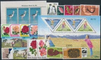 1959-1995 2 sets + 1 block + 15 stamps, 1959-1995 2 klf sor + 1 blokk + 15 klf önálló érték