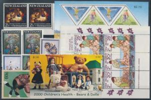 1965-2000 2 pairs + 2 blocks + 1 set + 2 stamps, 1965-2000 2 klf pár + 2 klf blokk + 1 sor + 2 klf önálló érték