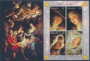Christmas mini sheet, Karácsony kisív