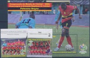 Football World Cup set + block, Labdarúgó VB sor + blokk