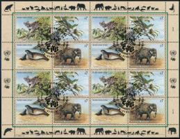 Endangered animals (II) minisheet Veszélyeztetett állatok (II). kisív