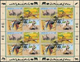 Endangered animals (III) minisheet Veszélyeztetett állatok (III). kisív