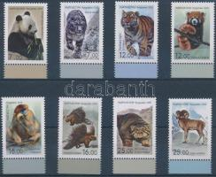 Fauna of Asia margin set, Ázsia állatvilága ívszéli sor