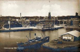 Helsingborg, Hamnem / port, steamship
