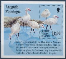 1995 Flamingo blokk Mi 85