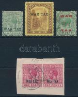 1918-1919 5 stamps 1918-1919 5 db bélyeg