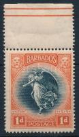 World War I. margin stamp (crease), I. Világháború ívszéli bélyeg (ránc / crease)