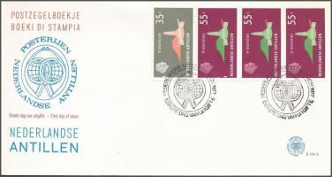 Definitive: Islands stamp-booklet sheet FDC, Forgalmi: Szigetek bélyegfüzetlap FDC