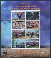 WWF African elephant mini sheet, WWF: Afrikai elefánt kisív