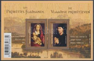 Early flamand painting block, Korai flamand festészet blokk