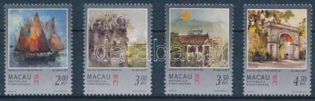 1997 Festmény sor Mi 899-902