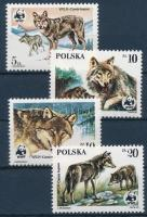 WWF: Wolves set + 4 FDC, WWF: Farkasok sor + 4 FDC