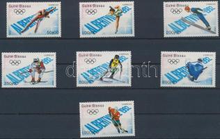 Olympics, Albertville set, Olimpia, Albertville sor