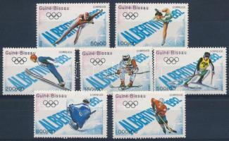 Olympic games set, Olimpia, Albertville sor