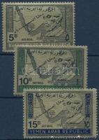 1968 Menekült megemlékezés (I.) sor Mi 734-736