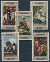 Horse paintings (I.) set, Lovas festmények (I.) sor