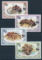 WWF: Coconut crab set WWF: Pálmatolvaj sor