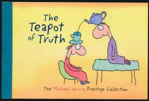 Caricatures stamp-booklet, Karikatúrák bélyegfüzet