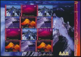 International year of the mountains minisheet Hegyek nemzetközi éve kisív