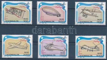 1993 Légi járművek sor Mi 485-490