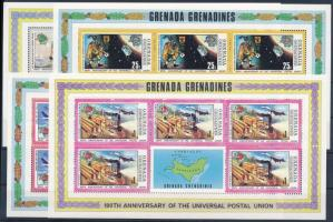 Centenary of UPU mini sheet set 100 éves az UPU kisívsor