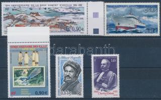 2005-2006 5 diff. stamps, 2005-2006 5 klf bélyeg