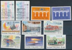 Europe CEPT 1983-1990 5 sets, Europa CEPT 1983-1990 5 klf sor