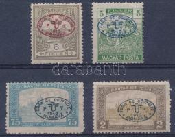 Debrecen I. 1919 4 klf bélyeg garancia nélkül (**11.000)