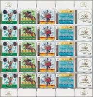 Olympics minisheet Barcelonai olimpia kisív