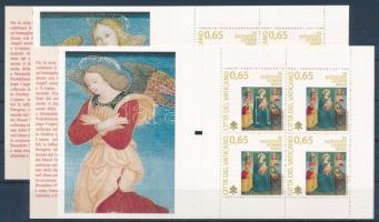Christmas 2 stamp-booklets, Karácsony 2 klf bélyegfüzet