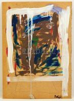 Bolyki Viola (1977- ):Belső kép. Olaj, farost, jelzett, 70×50 cm