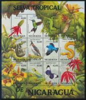 Fauna and flora complete sheet Növények és állatok teljes ív