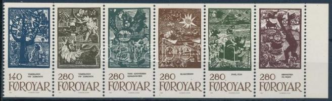 Tale Illustrations stamp sheet Meseillusztrációk bélyegfüzetlapon