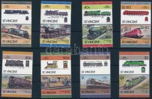 1984-1986 Railway 2 sets, 1984-1986 Vasúti közlekedés 2 klf sor