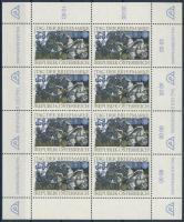 Stamp Day mini sheet, Bélyegnap kisív