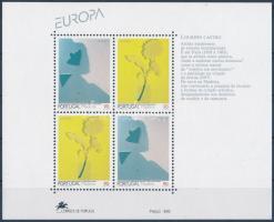 Europa CEPT, Contemporary art block, Europa CEPT: Kortárs művészet blokk