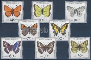 Butterfly set Lepkék sor