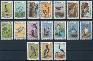 Definitive set: birds, Forgalmi: Madarak sor
