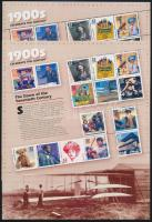 1998 20. század blokk Mi 40
