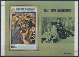 Auguste Renoir paintings block, Auguste Renoir festményei blokk